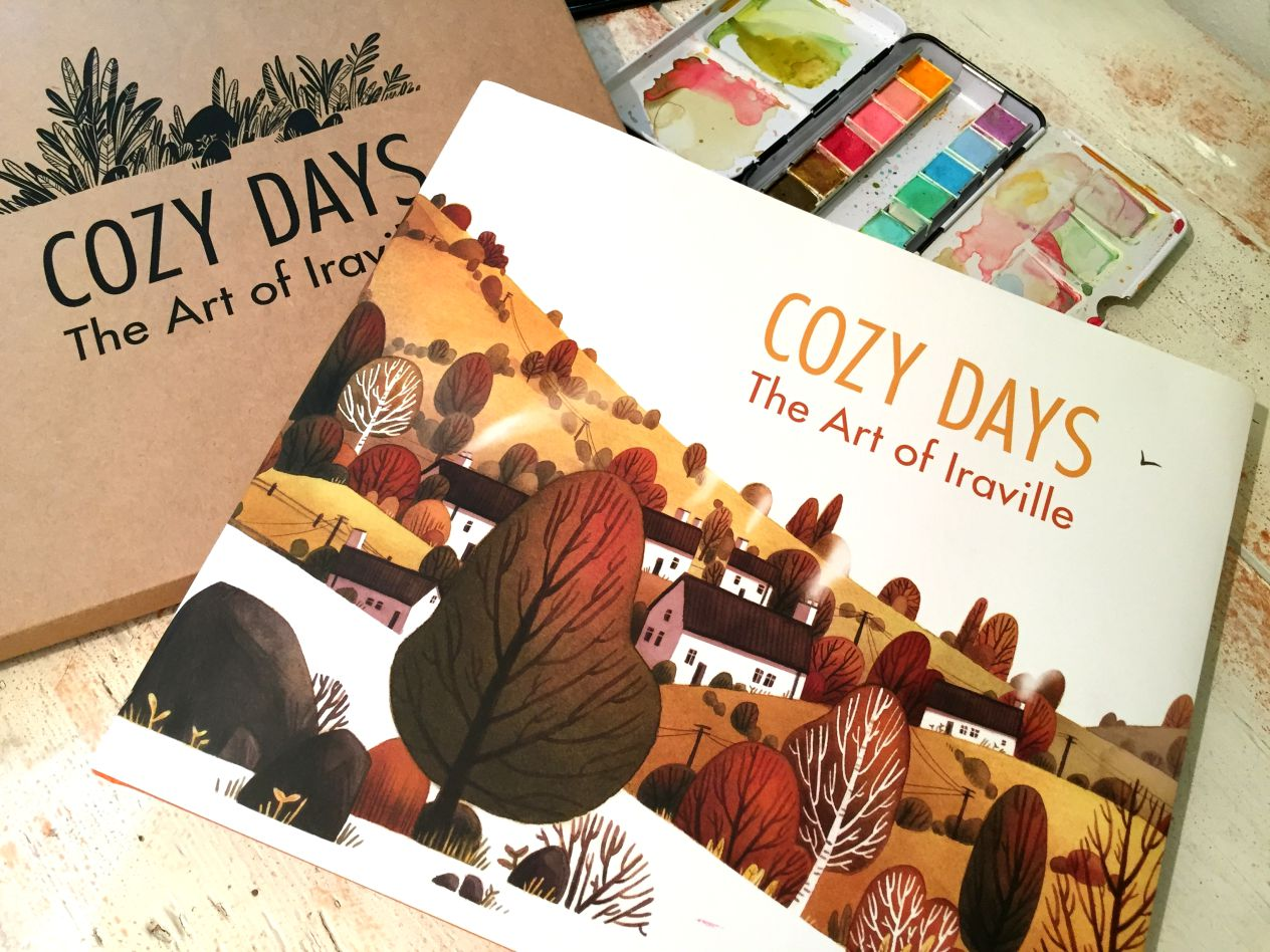 Cozy Days - The Art of Iraville art book 43