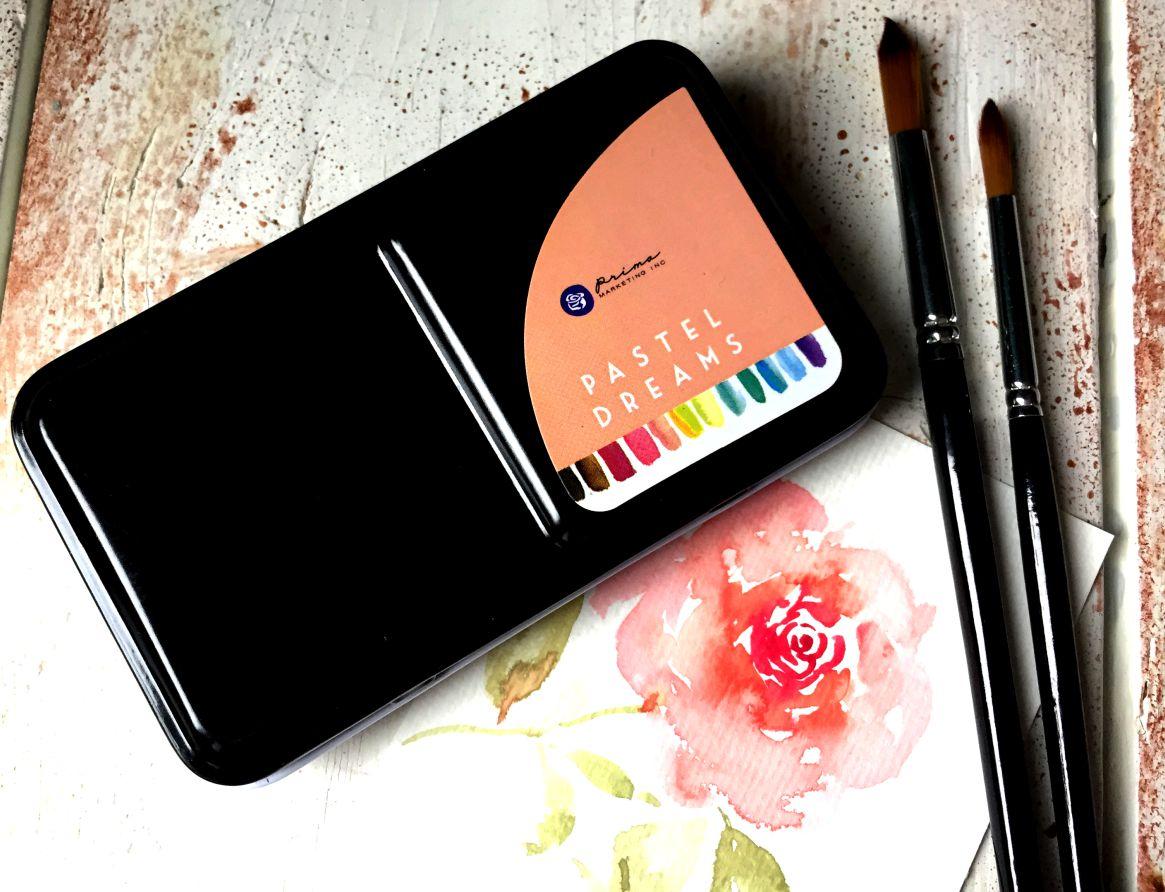 Prima Marketing Pastel Dreams palette acquerelli recensione 5